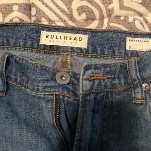 Bullhead crop boyfriend Jeans